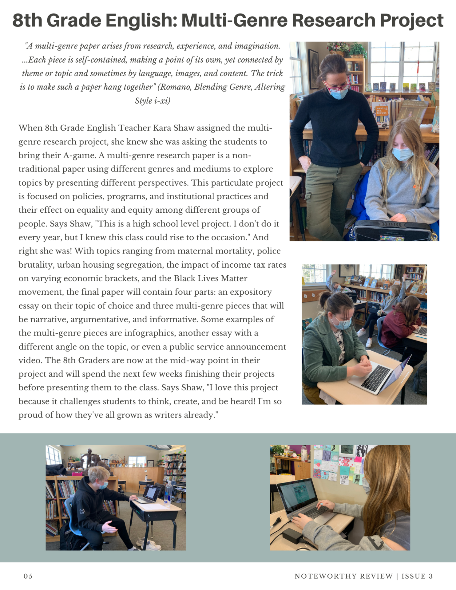 March 2021 Noteworthy Review - Page 5