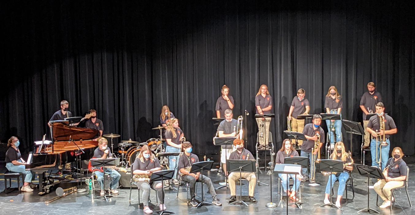 TKHS Jazz Band has a final concert.