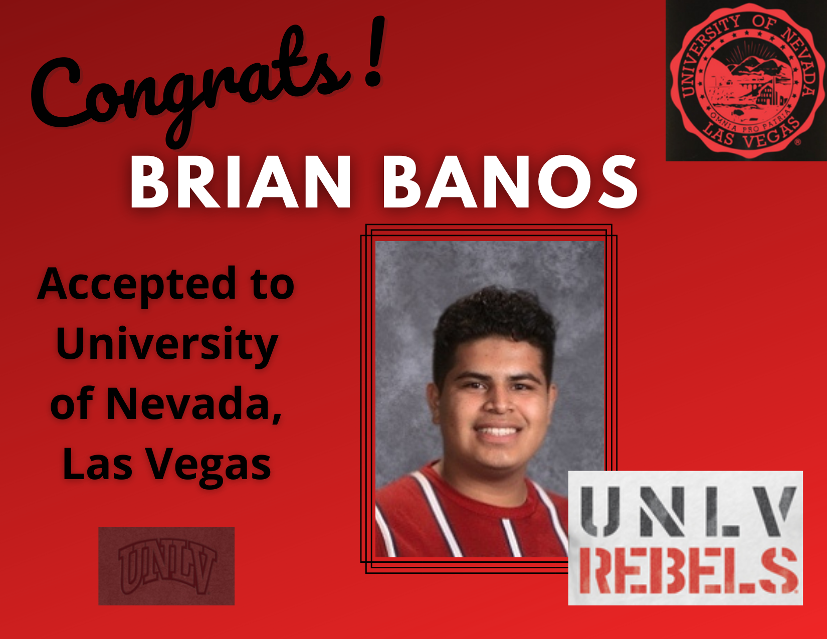 Brian Banos-UNLV