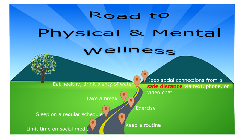Road to physical and mental wellness photo