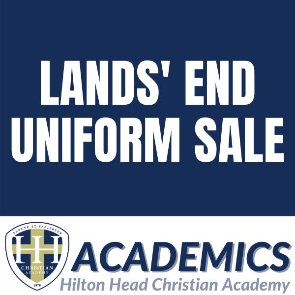 Lands End Uniform Sale