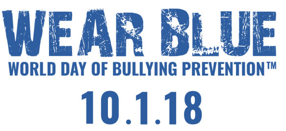 World Bullying wear blue