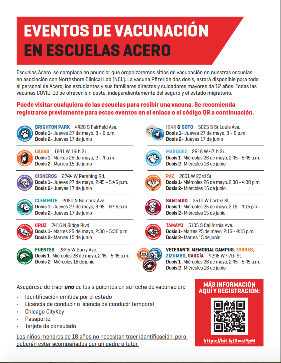 Vaccine Flyer Spanish