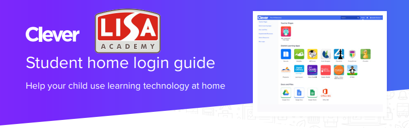 LISA Academy - Clever Student home login guide Image