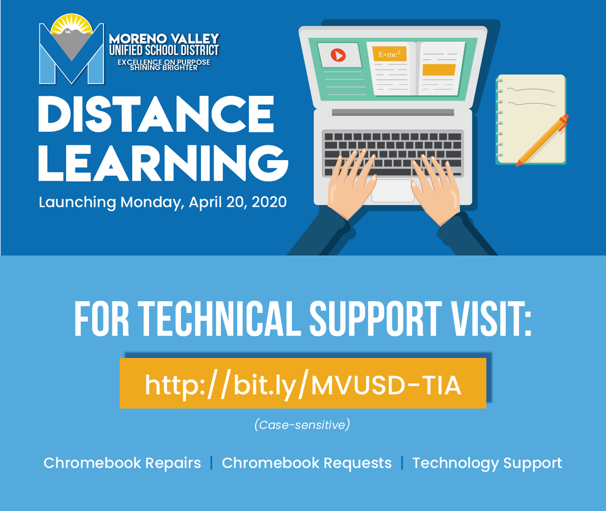 MVUSD Tech Support English