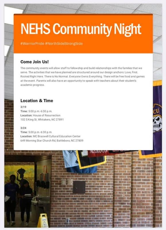 NEHS Community Night Featured Photo