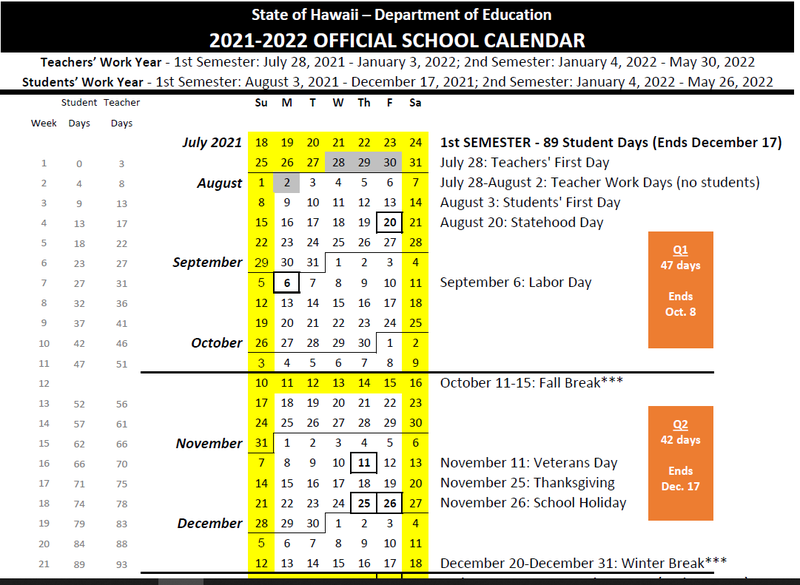 OFFICIAL 2021-2022 Calendar Featured Photo