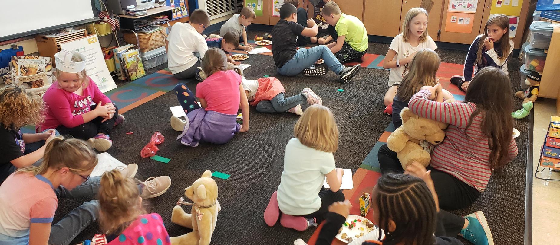kindergarten teddy bear picnic