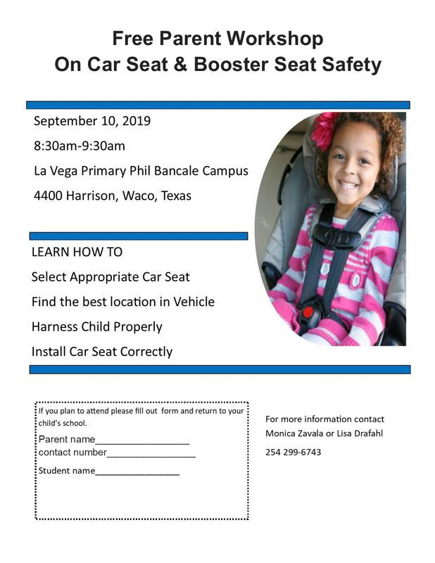FREE Parent Workshop on Car Seat Safety Thumbnail Image