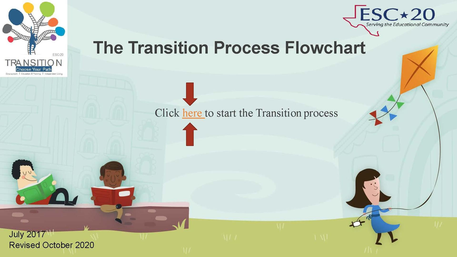 The Transition Process Flowchart