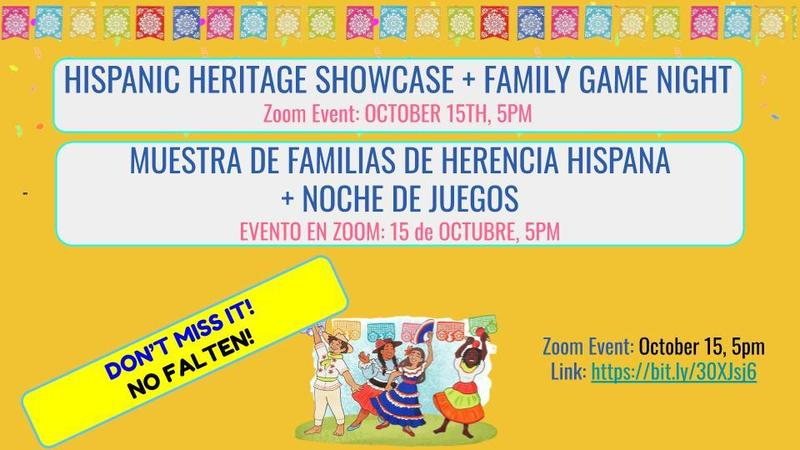 HISPANICE HERITAGE CELEBRATION