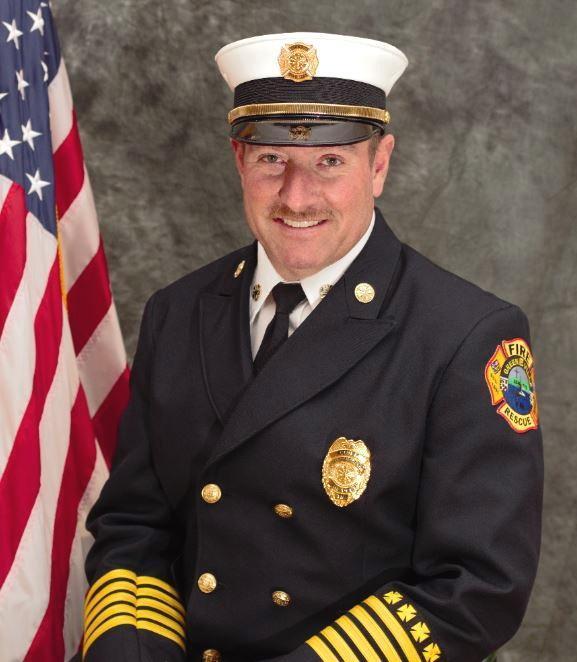 Headshot of Chief Alan Shipley