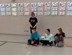 5th Graders had fun coding drones