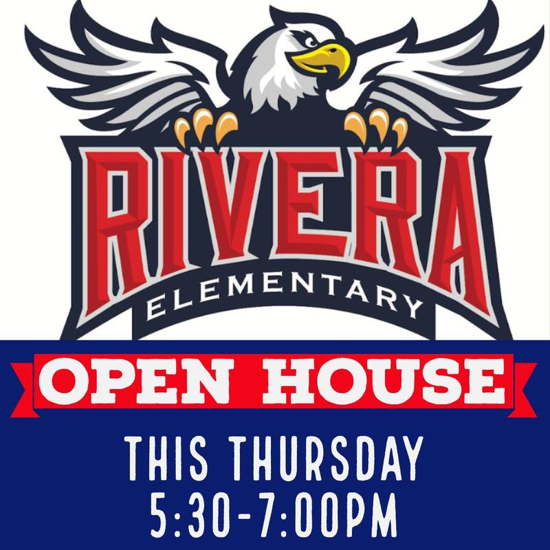 Rivera Elementary Open House