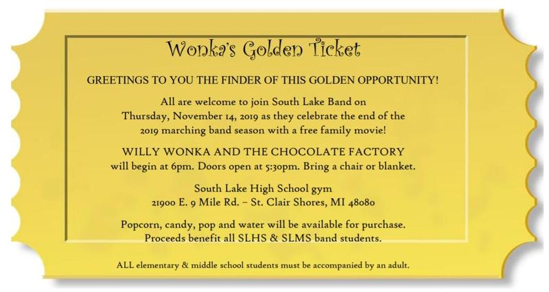 Golden Ticket details for movie