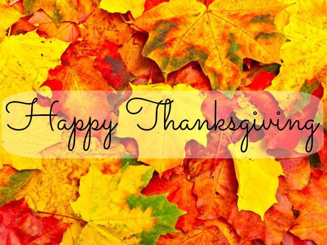 Trinity ISD will be closed for Thanksgiving Break until Monday, November 26th. Thumbnail Image