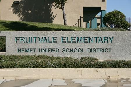 Fruitvale Sign