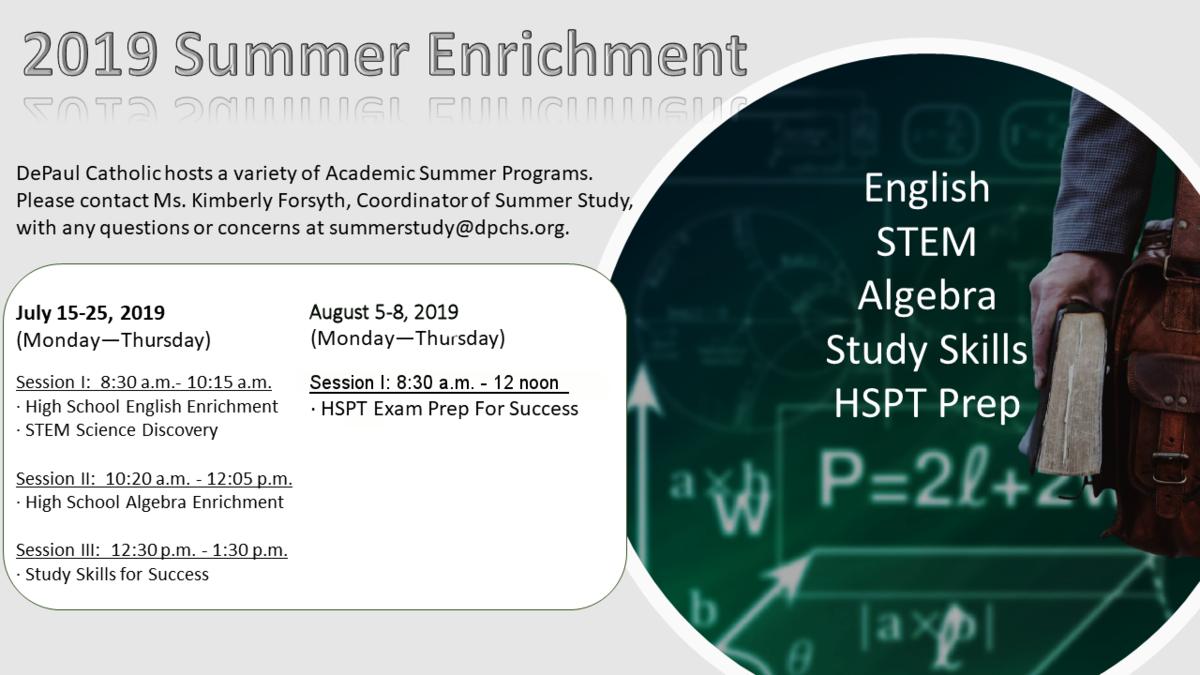Summer Study Schedule