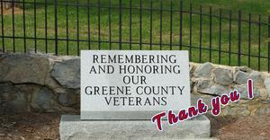 Veterans' Day Thank you