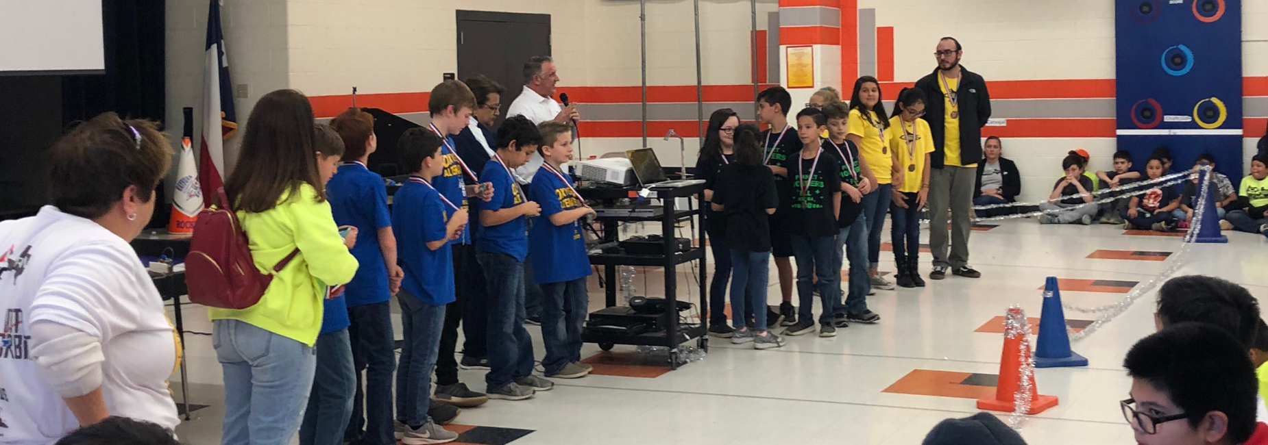 Milam wins 1st and 2nd at Robotics Scrimmage