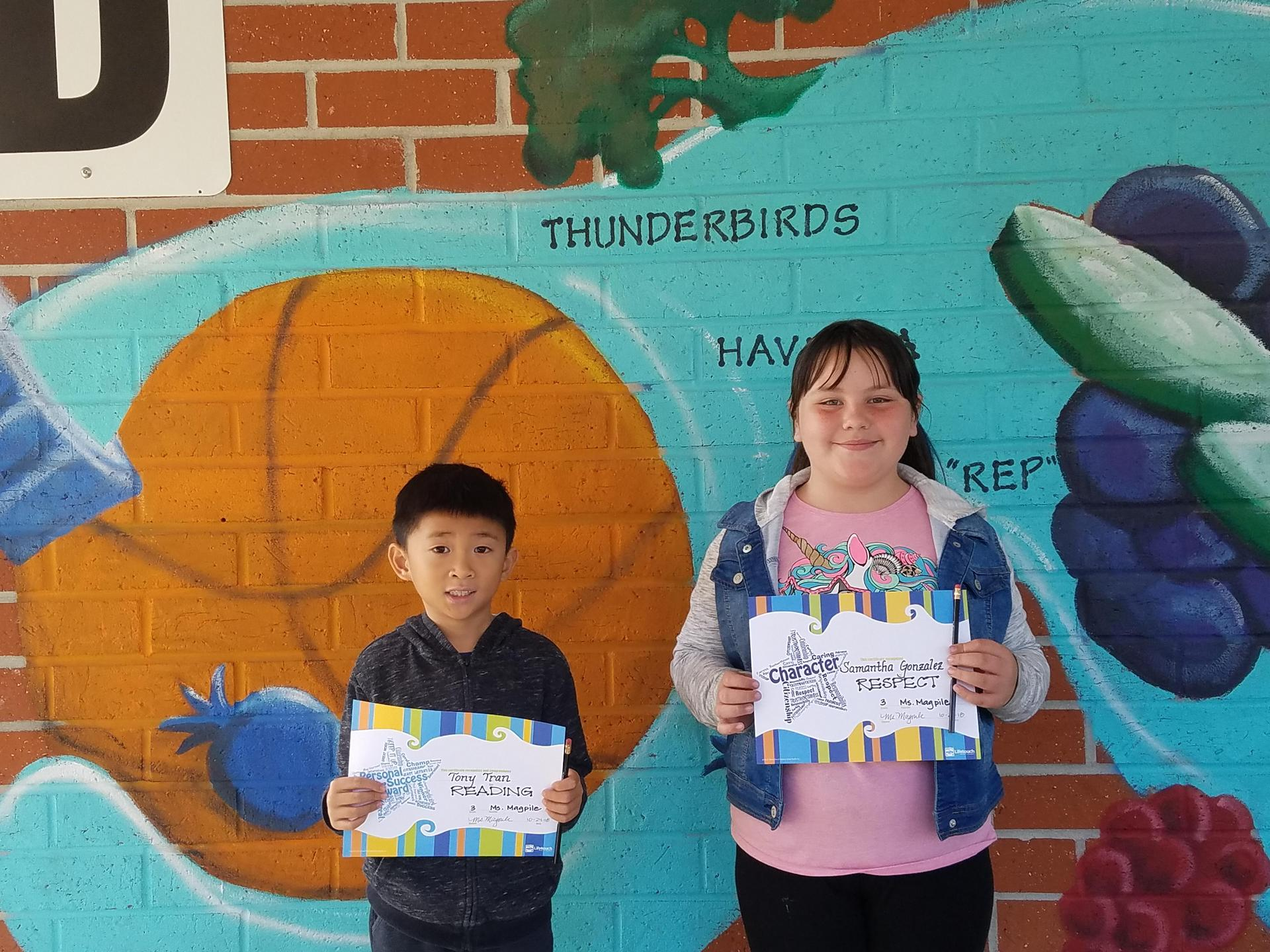 Ms. Magpile's Winners