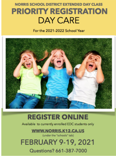 20-21 Priority Daycare Registration Thumbnail Image