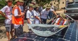 The Solar Car Makes a Stop in Breckenridge