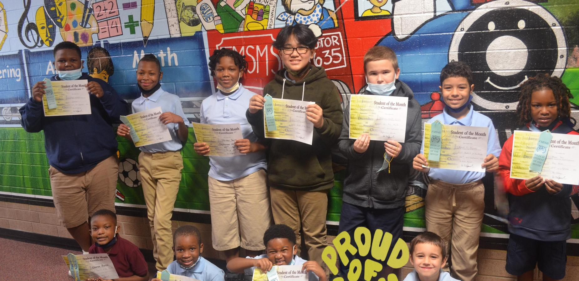 Wildcats September Students of the Month