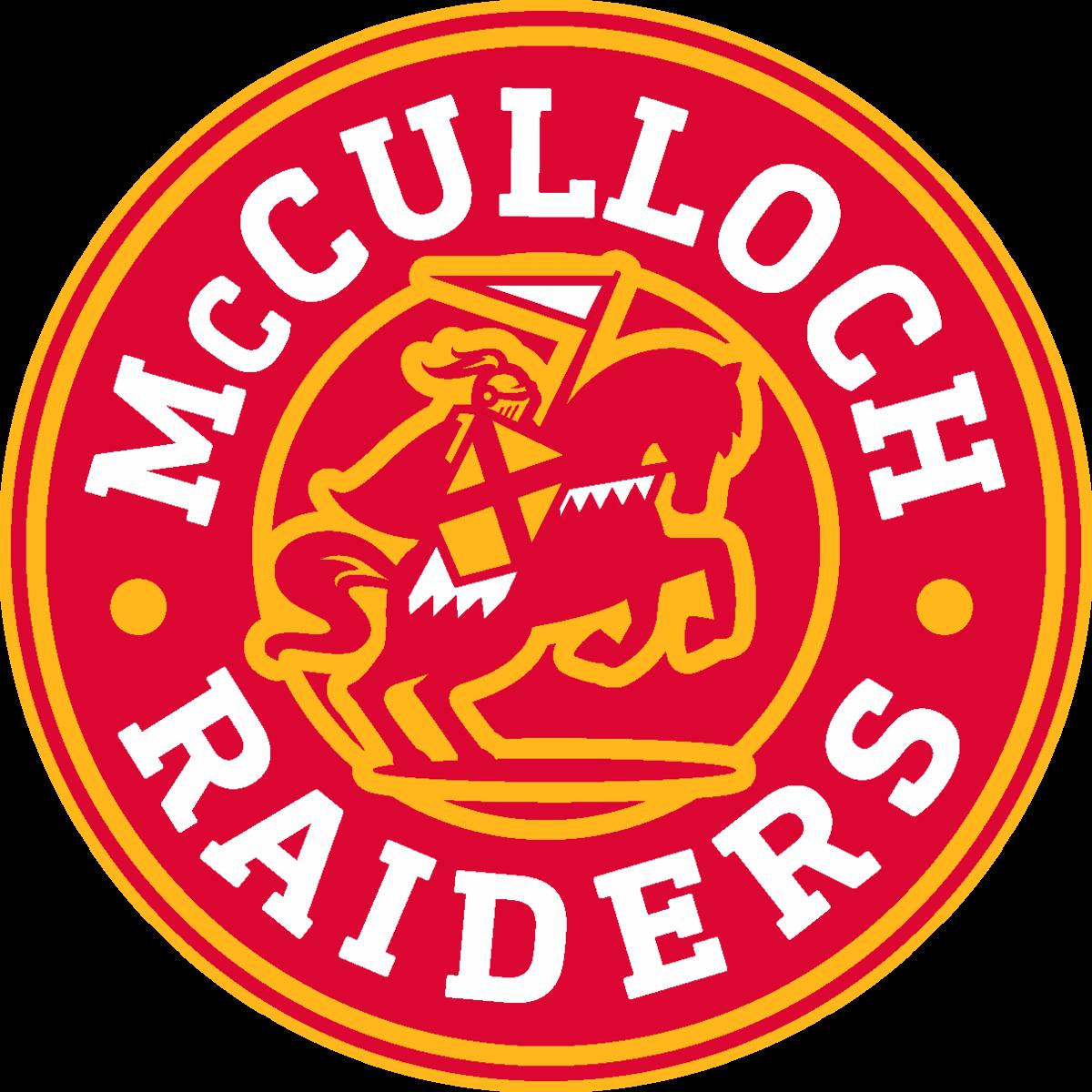McCulloch Raiders logo