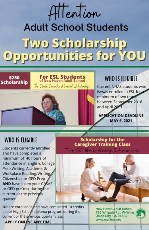 2021 Scholarships Flier