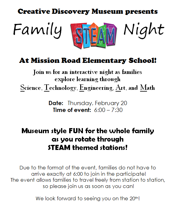 Family Steam Night! Featured Photo