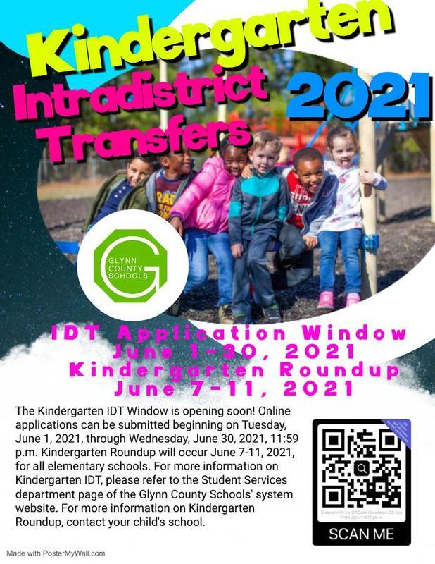 Kindergarten IDT Flyer