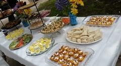 Tasty treats made for our famous Teas