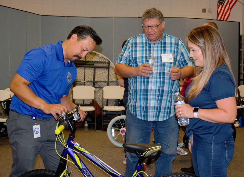 Baldwin Park Unified School District leaders participated in the first professional development day on July 18, featuring a team building exercise that challenged attendees with building bicycles that will be donated to students in Early Childhood Education through middle school.
