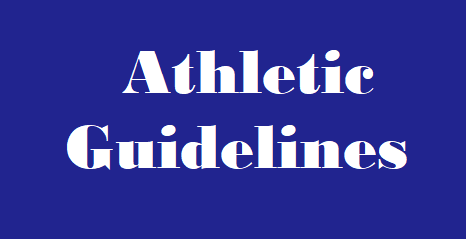 Athletic Guidelines