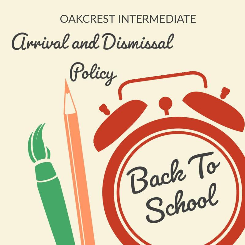 ARRIVAL AND DISMISSAL POLICY
