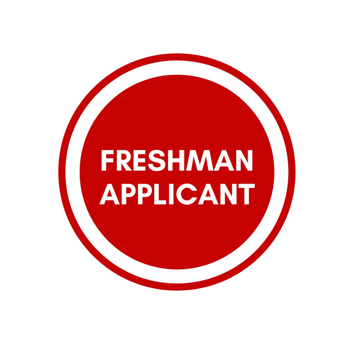 Freshman Applicant