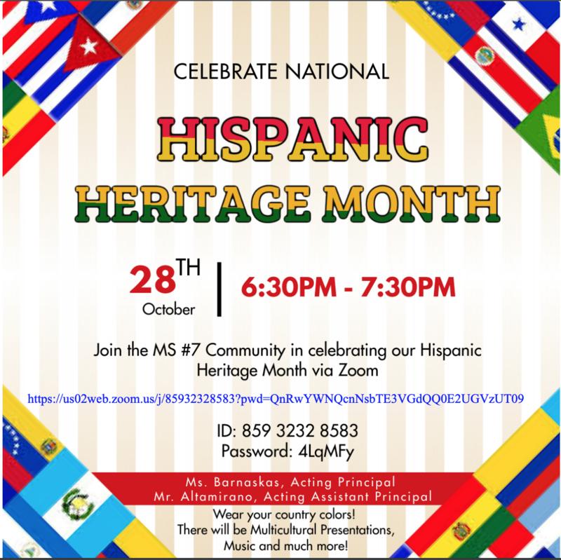 Hispanic Heritage English