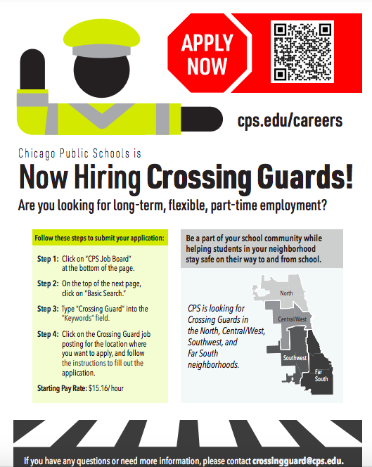 Now Hiring Crossing Guards! Featured Photo