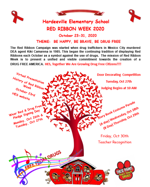 Read Ribbon Week October 23-31, 2020 Featured Photo