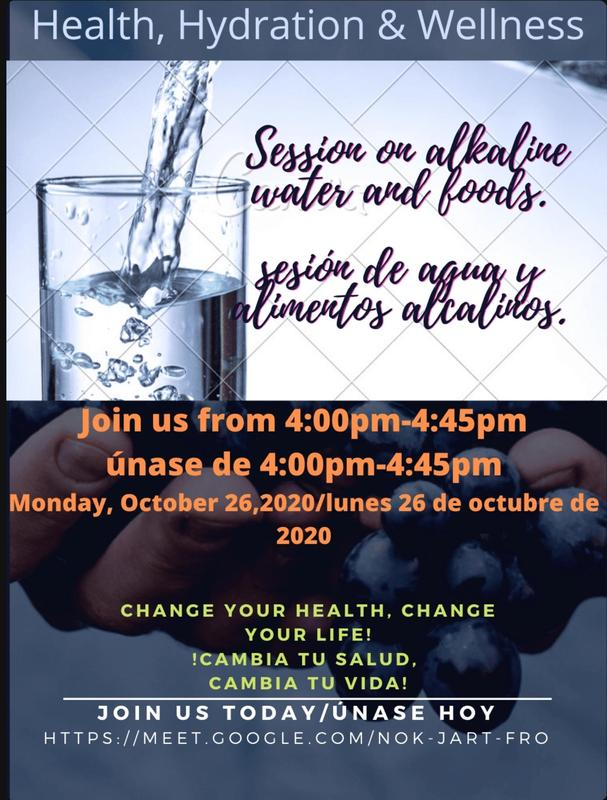 Health, Hydration & Wellness Session Featured Photo