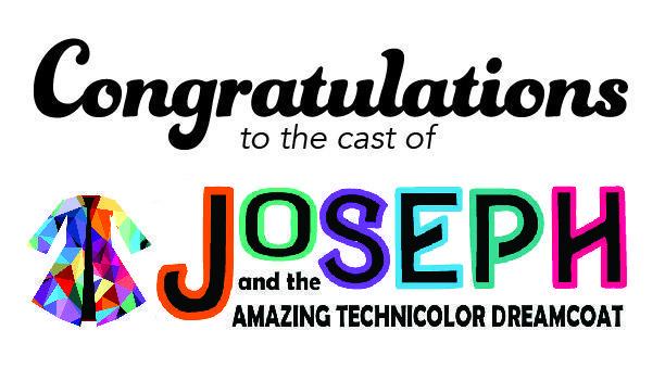 Congratulations Cast of Joseph sign