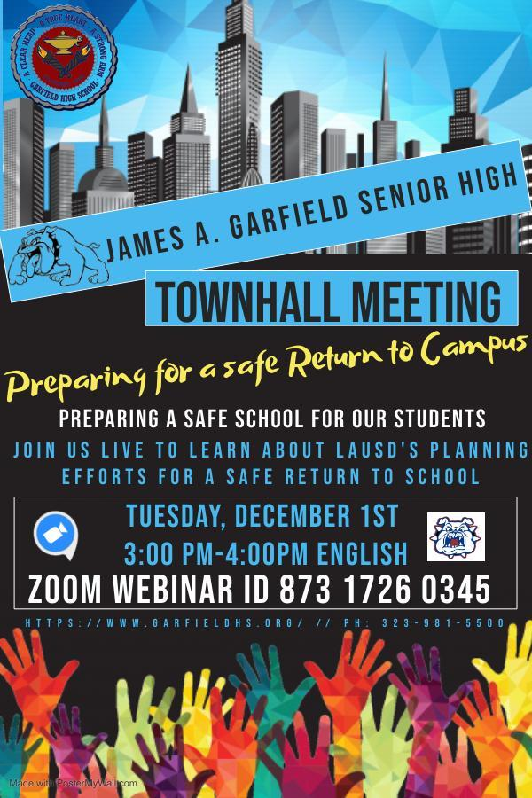 GHS Townhall Meeting
