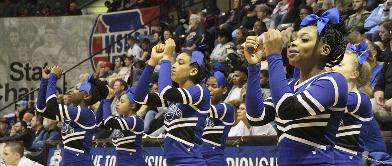 CHS Cheerleaders at State Championship