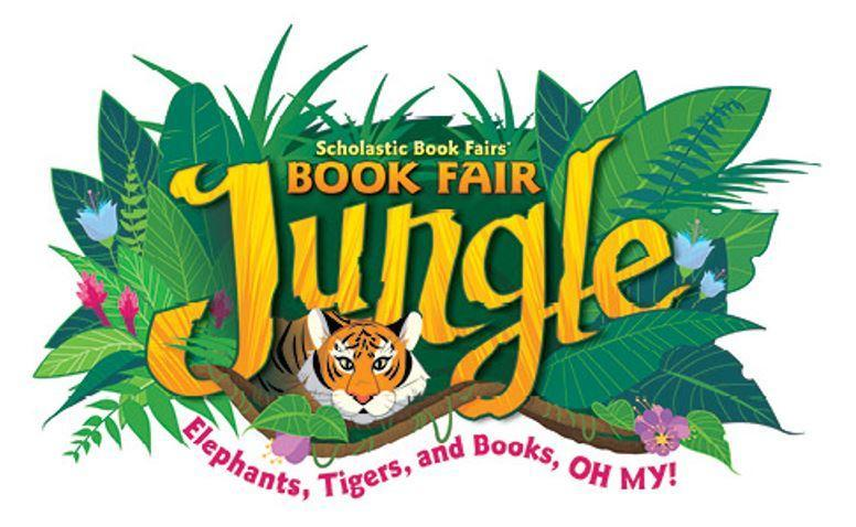 An image of a jungle and a tiger that says