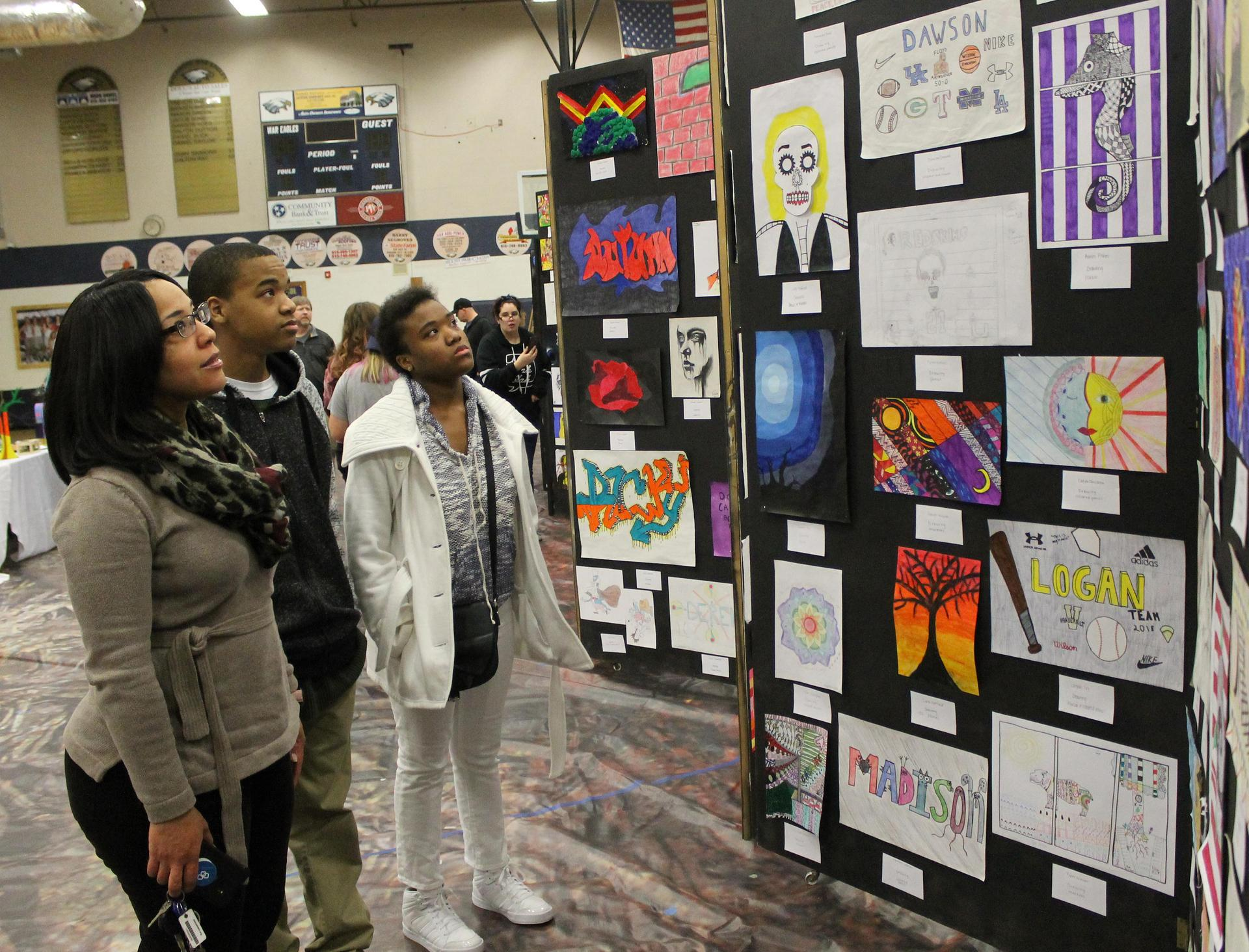 Sycamore High School hosts an annual Night of the Arts in the spring.