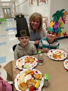 Kindergarten Thanksgiving Feast Thumbnail Image