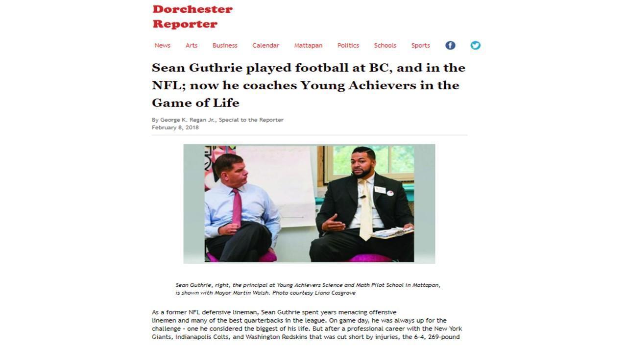Guthrie_Dorchester Reporter