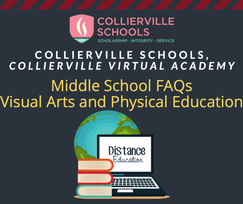 CVA Middle School FAQs: Visual Arts and Physical Education Featured Photo