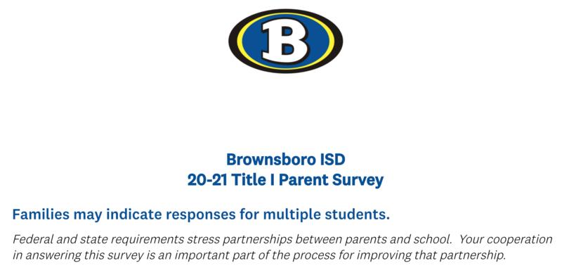 Please complete our parent survey. Featured Photo